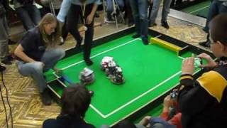 preview picture of video 'Robocup Junior 2011 - Preview of Slovakia League (Sabinov)'