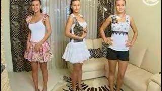 Смотреть онлайн Три наряда из одной белой майки
