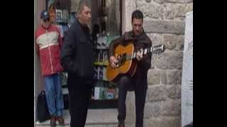 preview picture of video 'Tempio pausania -canto in re in piazza gallura con..MP4'