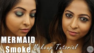 Image for video on Mermaid Smokey Eyes Tutorial | WEDDING PARTY MAKEUP (Drugstore Makeup) by Stacey Castanha