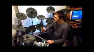 Zeromancer - Flirt (With Me) - Drum Cover - Alesis DM10