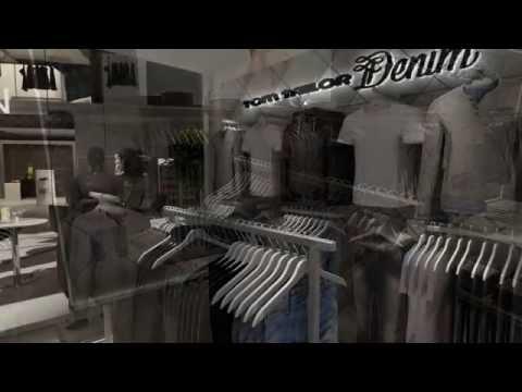 Tom Tailor Denim Virtual Shop | Video Tour