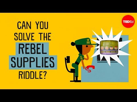 Can you solve the rebel supplies riddle? – Alex Gendler