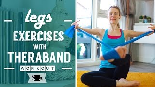 Legs Exercises with Theraband by Lazy Dancer Tips