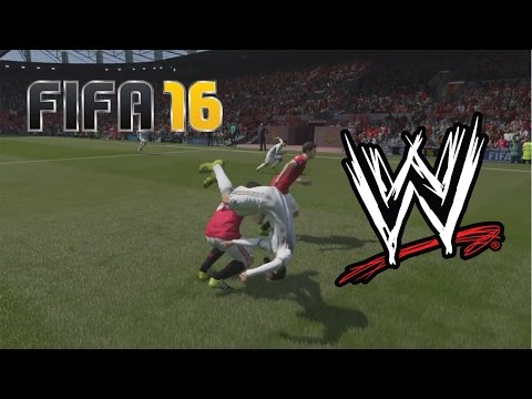 FIFA 16 Fails - With WWE Commentary #1