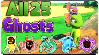 Yooka Laylee   All 25 Ghost Locations