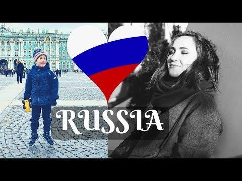 Visit Russia – ST. PETERSBURG by train – Russian trip vlog