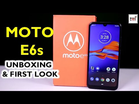 Motorola Moto E6s: Unboxing and 1st Impression