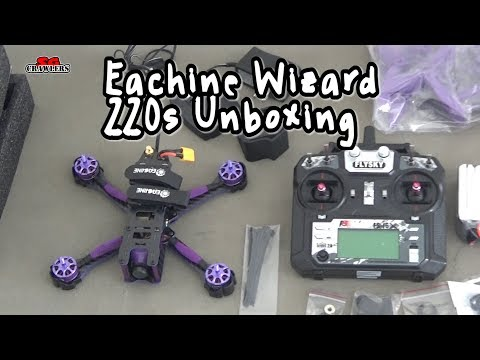 unboxing-and-first-look-eachine-wizard-x220s-fpv-racer-rc-drone-omnibus-f4