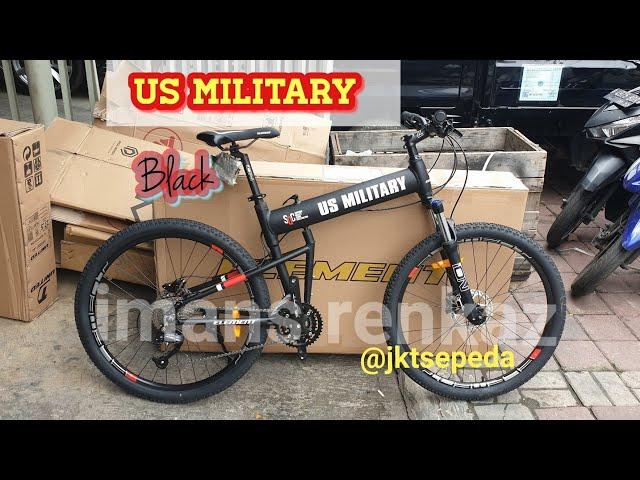 Jual Sepeda MTB Lipat US Military 26in - Jakarta Barat