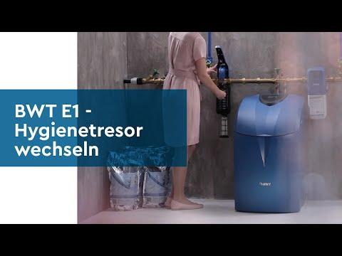 BWT E1 Einhebelfilter - Hygienetresor wechseln - einfach erklärt