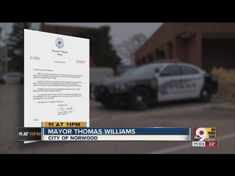 Norwood mayor blasts
