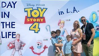 AD | DAY IN THE LIFE IN LA & BRAND NEW TOY STORY 4 TOYS