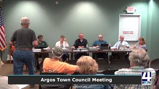 Argos Town Council Meeting - 5-1-19