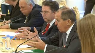 Переговоры С.Лаврова и Х.Фори