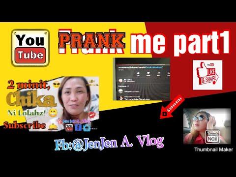 Youtube prank me. part1 /shout out! 😁 #2minitschikanilolahz