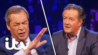 Nigel Farage Gets Angry Over UKIP Racism Accusations | Piers Morgan's Life Stories