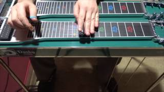 Josh Turner   I Wouldn't Be A Man   Pedal Steel Intro by William Paschoal