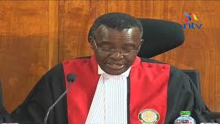 Supreme court invalidates Uhuru's win