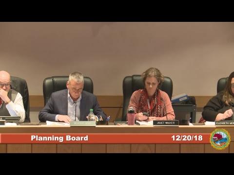 Planning Board 12.20.18