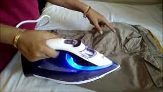 Philips Perfect Care Azur GC4914 | Philips Steam Iron with OptimalTemp Review by Happy Pumpkins