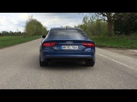 Audi RS 7 Performance Soundcheck 2016