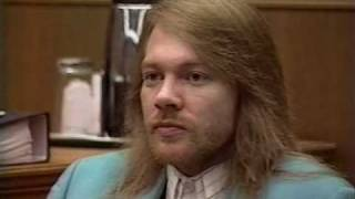 Guns'N'Roses, Axl Rose in court (Part 1/2)