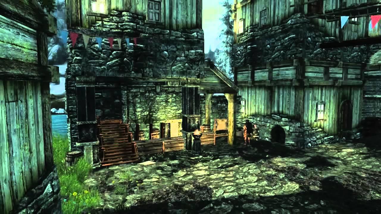 Zelda's Windfall Island Recreated In Skyrim