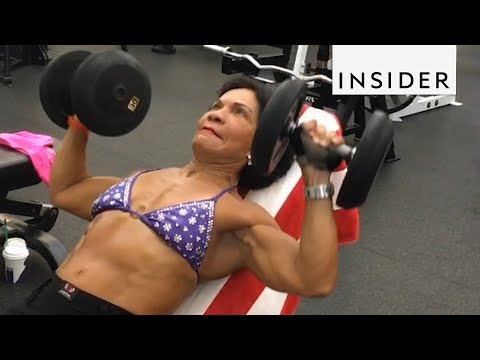 Inspiring 71 Year Old Bodybuilder