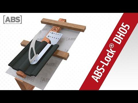 Kompakte Video-Präsentation zum Sicherheitsdachhaken ABS-Lock DH05.