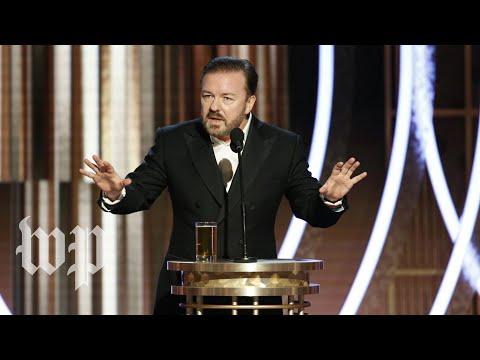 Ricky Gervais na Zlatých glóbech 2020