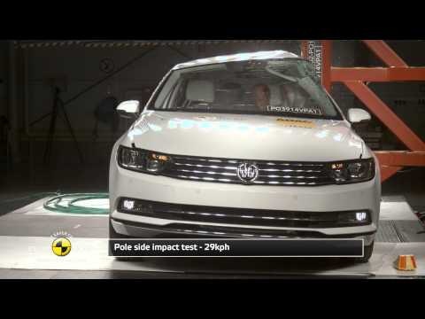 Euro NCAP Crash Test of Volkswagen Passat