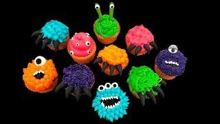 Halloween Cupcakes | Monster Theme
