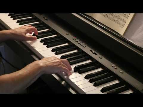 Luba plays piano piece from her childhood