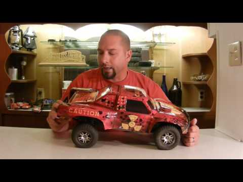 AMR Racing RC Body Wrap Slash 4x4 Review