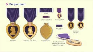 The Purple Heart, America's Oldest Military Award, and How to display It.