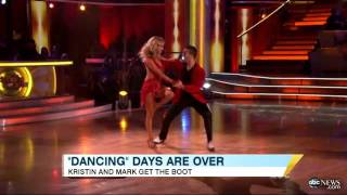 'Dancing With the Stars' Results Shocker: Kristin Cavallari, Mark Ballas Booted on Week 3