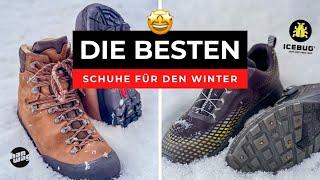 Die BESTEN Schuhe für den Winter - Darauf solltest du beim Kauf achten