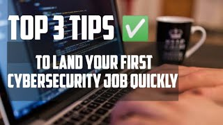 Land A Cyber Security Job Quickly As A Beginner (PRO TIPS)