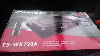 Pioneer TS-WX120A Subwoofer Test & Kaufberatung. Einbau, Erklärung, Test, Fazit. /// PandaDRIV3R ///
