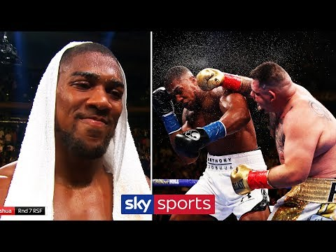 ANTHONY JOSHUA REACTS TO SHOCKING DEFEAT AT THE HANDS OF ANDY RUIZ JR!