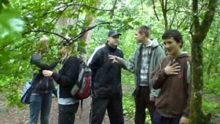 preview picture of video 'Orienteering in Bialowieza Forest p.1'