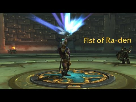 The Story of the Fist of Ra-den