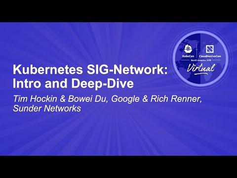 Image thumbnail for talk Kubernetes SIG-Network: Intro and Deep-Dive