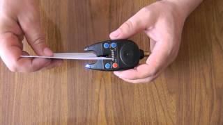 Как настроить сигнализатор поклевки электронный