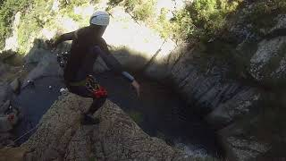 Canyon du Llech : Saut du 9m