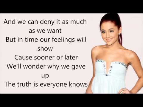Ariana grande   almost is never enough ft  nathan sykes   lyrics  hd