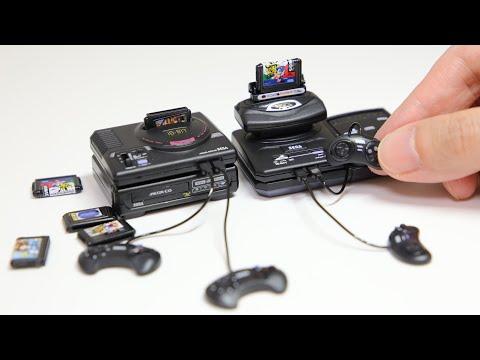 Sega History Collection Mega Drive Gashapon Japan Souvenir