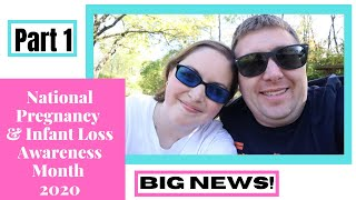 MISCARRIAGE FROM A MAN'S POINT OF VIEW; exciting news for national pregnancy & infant loss awareness