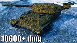 Объект 705А как играют ТОП статисты 🌟 10600+ dmg 🌟 World of Tanks лучший бой на тт 10 уровня